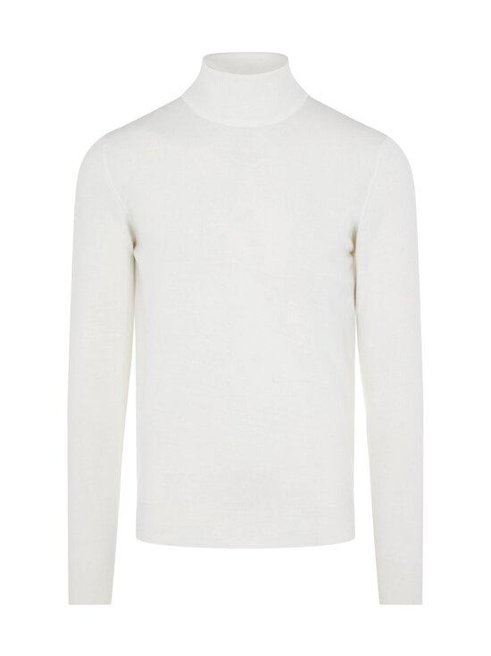 J.Lindeberg - Lyd Merino Turtleneck Sweater -merinoneule - 0000 WHITE   Stockmann - photo 1
