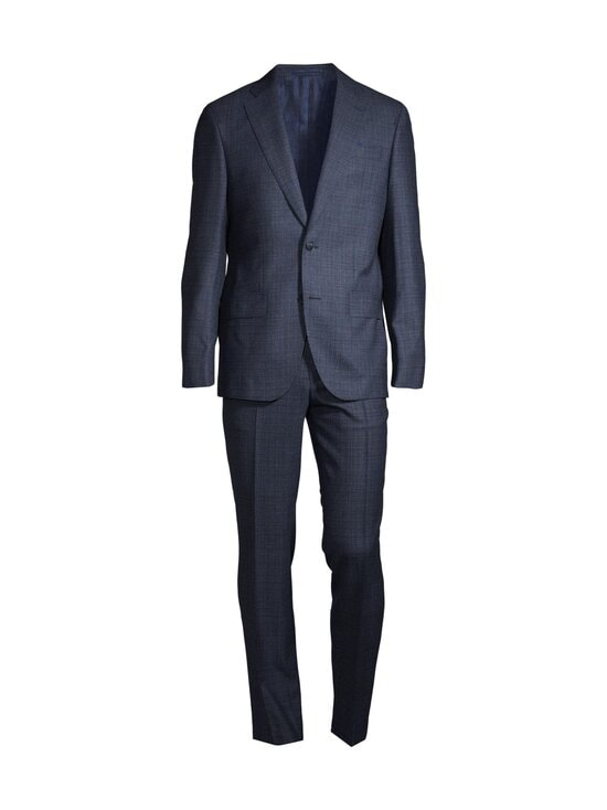 SAND Copenhagen - Star Napoli Craig Normal Suit -puku - MEDIUM BLUE 570 | Stockmann - photo 1