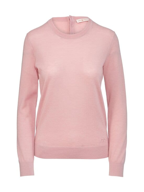 Tory Burch - Cashmere Iberia Pullover -kashmirneule - 662 AUTUMN PINK | Stockmann - photo 1