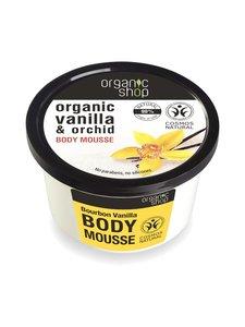 Organic Shop - Bourbon Vanilla -vartalomousse 250 ml - null | Stockmann