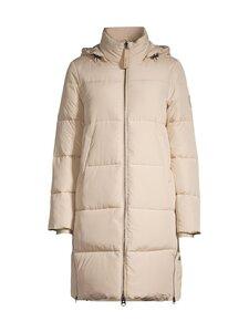 Calvin Klein Womenswear - Elastic Logo Sorona Coat -takki - PCV HUMUS | Stockmann