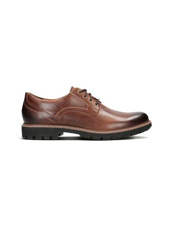 Clarks - Batcombe Hall -kengät - DARK TAN | Stockmann - photo 1