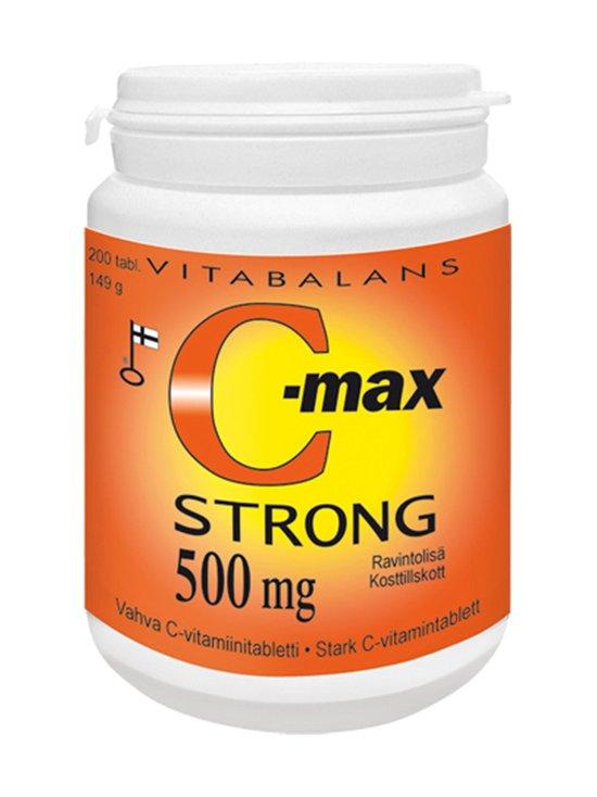 Vitabalans - C-Max Strong -vahva C-vitamiinivalmiste, ravintolisä 200 tabl./149 g | Stockmann - photo 1