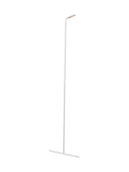 Yamazaki - Tower Slim Leaning Coat Rack -naulakko - WHITE | Stockmann - photo 1