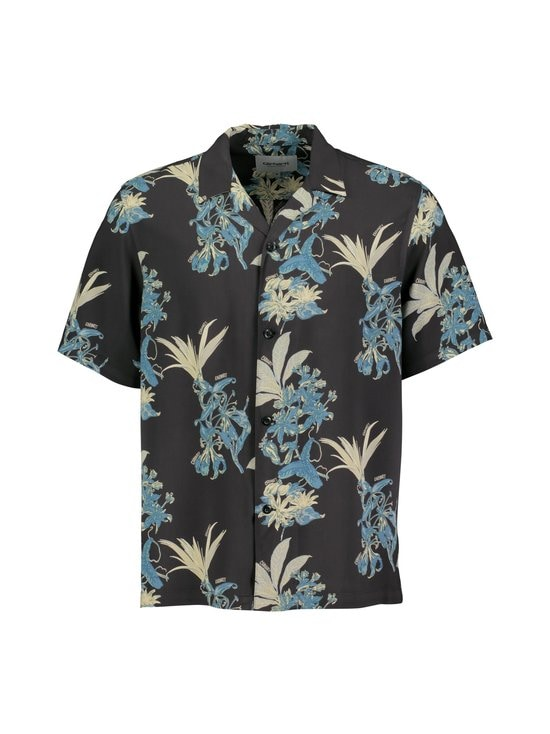 Carhartt WIP - Hawaiian Floral Shirt -kauluspaita - HAWAIIAN FLORAL PRINT, BLACK | Stockmann - photo 1