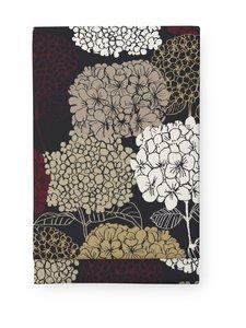 Finlayson - Kaino-pöytäliina 145 x 250 cm - BLACK/DARK RED   Stockmann