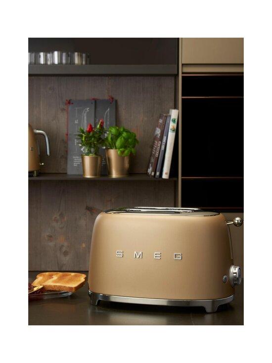 Smeg - TSF01CHMEU-leivänpaahdin, 2 viipaleelle - MATT BEIGE | Stockmann - photo 3