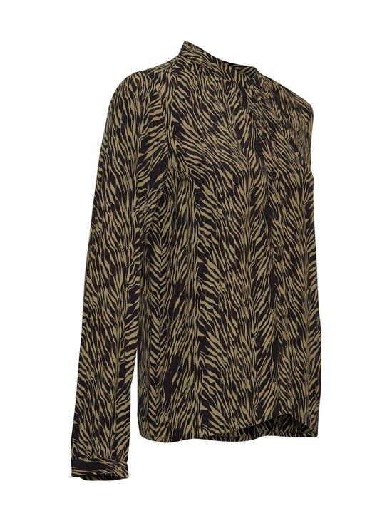 Moss Copenhagen - Calie Morocco LS Shirt AOP -pusero - SAGE ZEBRA | Stockmann - photo 3