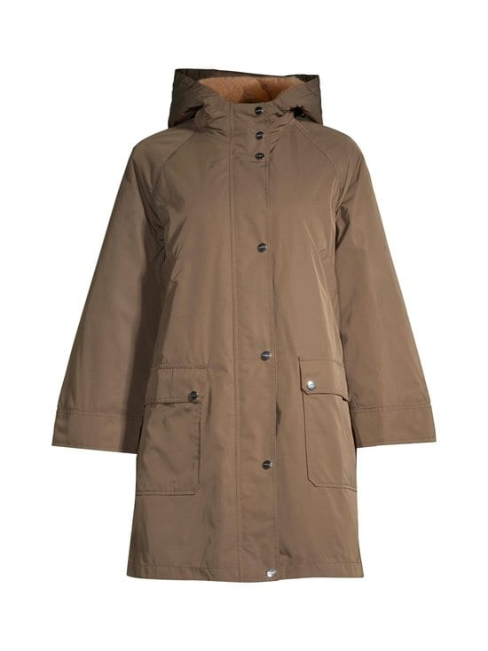 Marella - Page Parka -takki - 001 OIL GREEN | Stockmann - photo 1