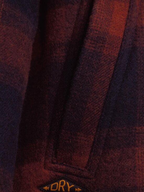 Superdry - Hunting ZipThru Wool Overshirt -takki - 4TI RUST OMBRE CHECK | Stockmann - photo 4