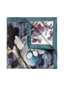 Eton - Square Birds -silkkitaskuliina - 65 GREEN | Stockmann