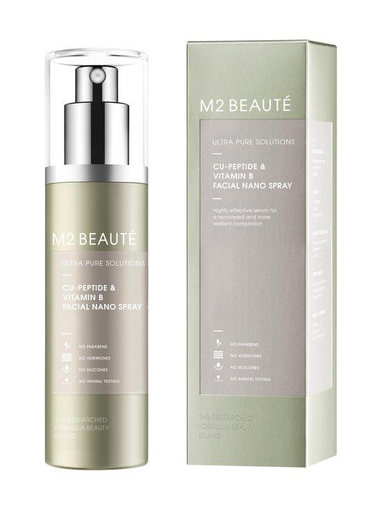 M2 Beauté - Ultra Pure Solutions Facial Nano Serum Spray Cu-Peptide + Vitamin B -kasvoseerumisuihke 75 ml - NOCOL   Stockmann - photo 1