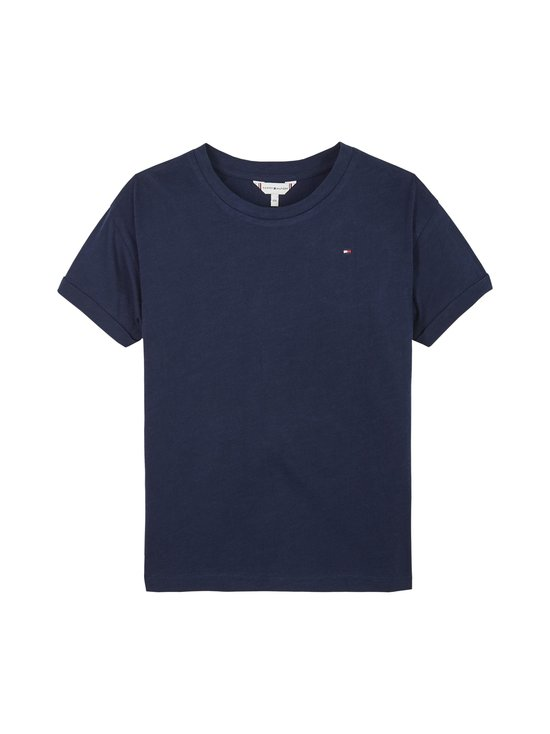 Tommy Hilfiger - Essential Logo Tee -paita - C87 TWILIGHT NAVY | Stockmann - photo 1