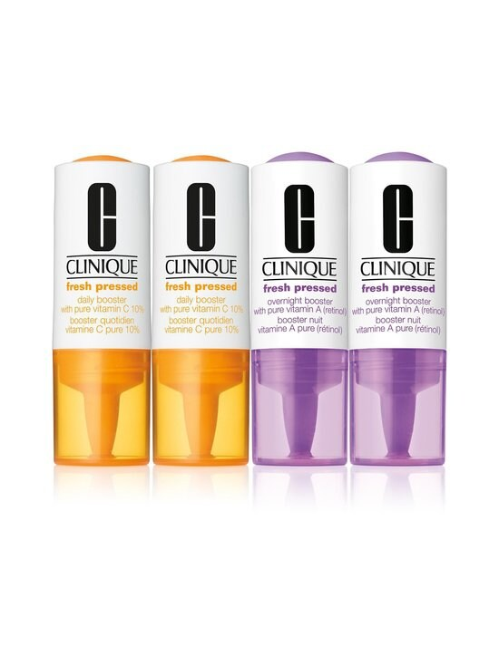 Clinique - Fresh Pressed Clinical Daily + Overnight Booster With Vitamin A+C 2+2 -tuotepakkaus 34 ml - NOCOL | Stockmann - photo 1