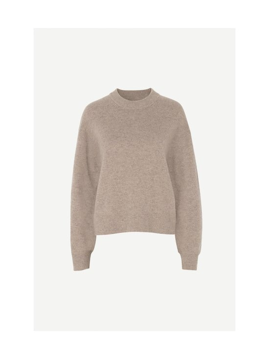 Samsoe & Samsoe - Amaris Crew Neck -villaneule - WARM GREY MEL | Stockmann - photo 1