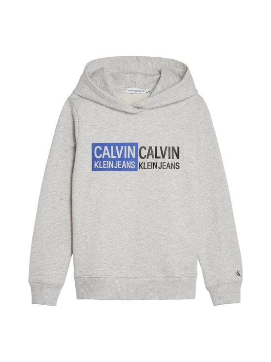 Calvin Klein Kids - Stamp Logo -huppari - LIGHT GREY HEATHER | Stockmann - photo 1