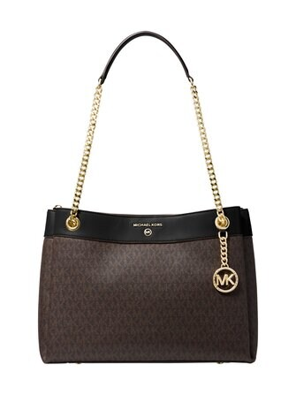 Susan Medium Logo Convertible Shoulder Bag -laukku - Michael Michael Kors