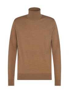 Tommy Hilfiger Tailored - Fine Gauge Luxury Wool Roll Neck -villaneule - HH9 TAWNY HEATHER | Stockmann