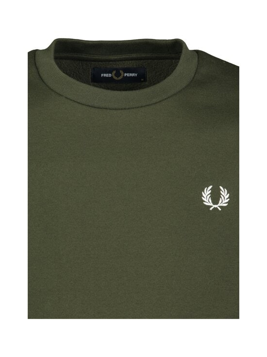 Fred Perry - Arch Branded Sweatshirt -collegepaita - 408 HUNTING GREEN   Stockmann - photo 2