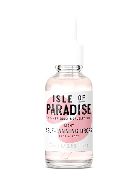 Isle of Paradise - Light Self Tanning Drops -itseruskettavat tipat 30 ml - LIGHT | Stockmann - photo 1