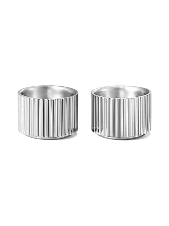 Georg Jensen - Bernadotte-munakuppipari - STEEL | Stockmann - photo 1