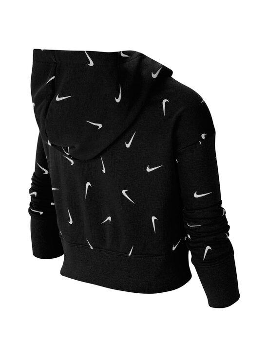 Nike - Cropped Pullover Hoodie -huppari - BLACK/WHITE/LT SMOKE GREY | Stockmann - photo 2
