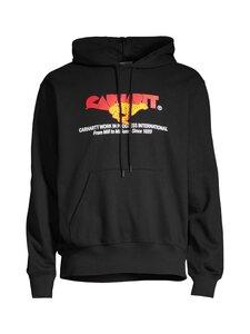 Carhartt WIP - Hooded Runner Sweat -huppari - BLACK /--- | Stockmann