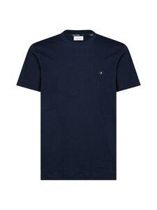 Calvin Klein Menswear - Cotton Logo Embroidery T-shirt -paita - 407 CALVIN NAVY | Stockmann