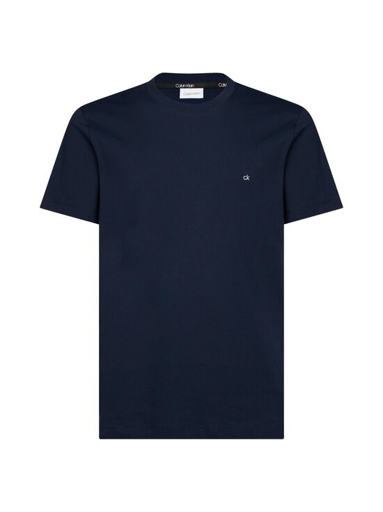 Calvin Klein Menswear - Cotton Logo Embroidery T-shirt -paita - 407 CALVIN NAVY | Stockmann - photo 1