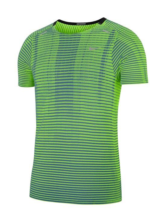 Nike - TechKnit Ultra -treenipaita - 358 DARK TEAL GREEN/REFLECTIVE SILV | Stockmann - photo 1