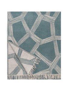 Lapuan Kankurit - Himmeli-villahuopa 140 x 180 cm - 8 BEIGE-GREEN | Stockmann