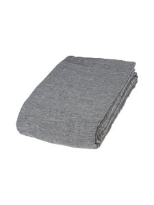 Balmuir - Pellavapäiväpeite 260 x 270 cm - DARK GREY/IT. GREY (HARMAA) | Stockmann