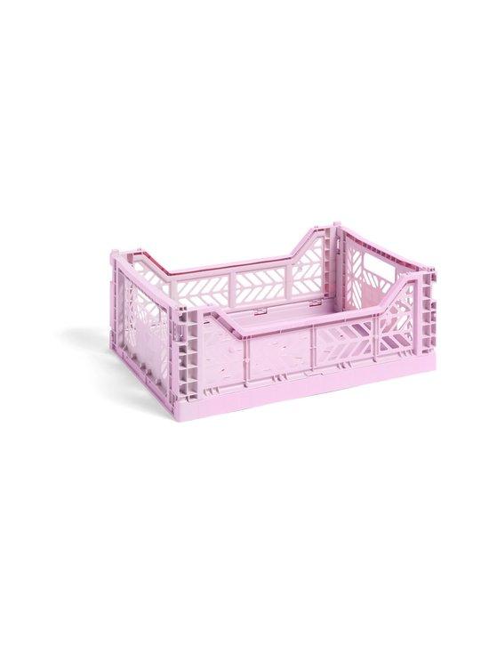 HAY - Colour Crate M -laatikko 40 x 30 x 14,5 cm - LAVENDER | Stockmann - photo 1