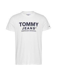 Tommy Jeans - Tjm Essential Front Logo Tee -paita - YBR WHITE | Stockmann