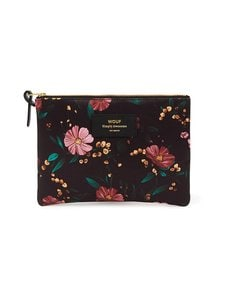 WOUF - Black Flowers Large -pussukka - MULTICOLOR | Stockmann