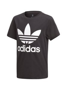 adidas Originals - Trefoil Tee -paita - BLACK/WHITE | Stockmann
