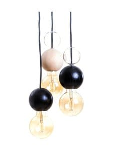 QUU Design - Group SB -riippuvalaisin - BLACK/NATURAL/GLASS | Stockmann
