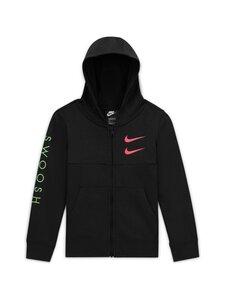 Nike - Sportswear Swoosh Hoodie -hupparitakki - BLACK/BLACK/EMBER GLOW | Stockmann