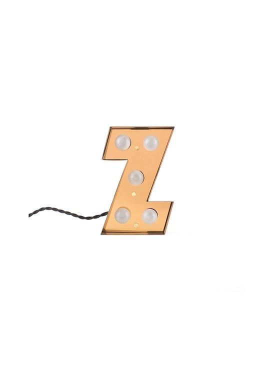 Caractère-valokirjain, Z