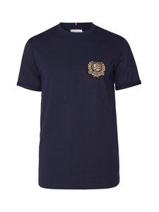 Les Deux - Egalité T-Shirt -paita - 460000-DARK NAVY WITH MULTICOLOR ARTWORK | Stockmann