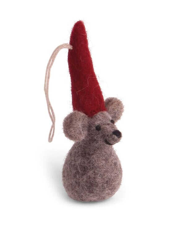 Én Gry & Sif - Christmas Mouse -koriste - NATURAL GREY | Stockmann - photo 1