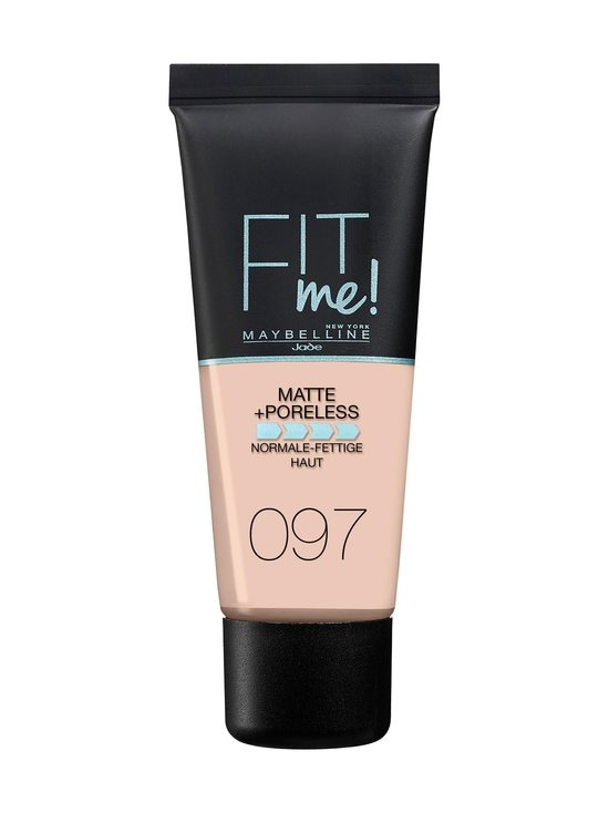 Maybelline - New York Fit Me Matte+Poreless -meikkivoide 30 ml - 097 NATURAL PORCELAIN | Stockmann - photo 1