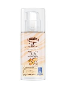 Hawaiian Tropic - Hawaiian Silk H Air Soft Face SPF 30 -aurinkosuojavoide kasvoille 50 ml - null | Stockmann