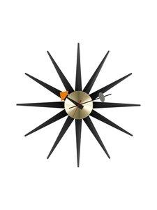 Vitra - Sunburst-seinäkello 47 cm - MUSTA | Stockmann