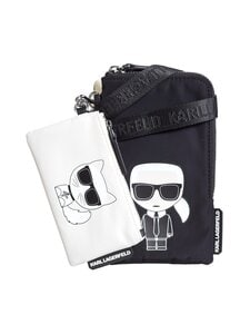 Karl Lagerfeld - K/Ikonik Nylon Double Pouch -laukku | Stockmann