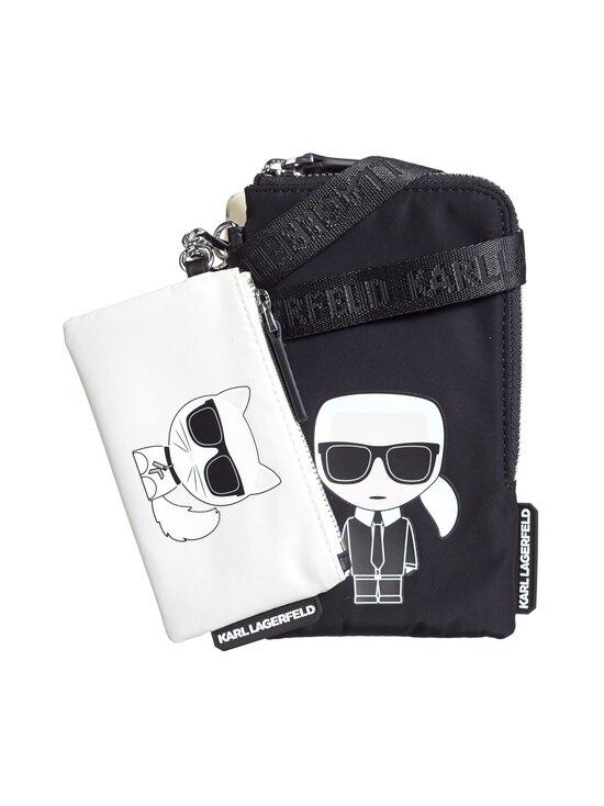 Karl Lagerfeld - K/Ikonik Nylon Double Pouch -laukku - A999 BLACK | Stockmann - photo 1