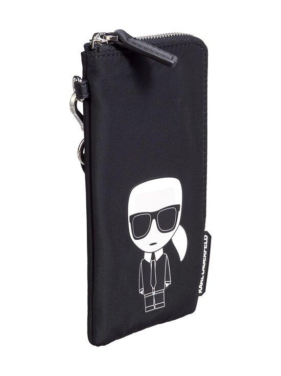 Karl Lagerfeld - K/Ikonik Nylon Double Pouch -laukku - A999 BLACK | Stockmann - photo 3