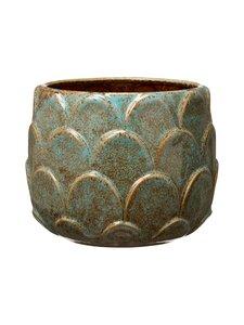 Wikholm Form - Sabrina-ruukku 19 x 15 cm - BLUE/GREEN MELANGE | Stockmann