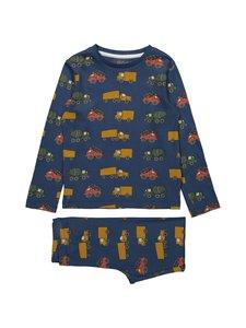 Bogi - Dahlen-pyjama - BLUE COMBO | Stockmann