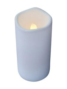Sirius - Storm-led-kynttilä 10 x 12 cm - WHITE   Stockmann